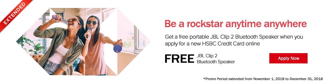 HSBC JBL Promo